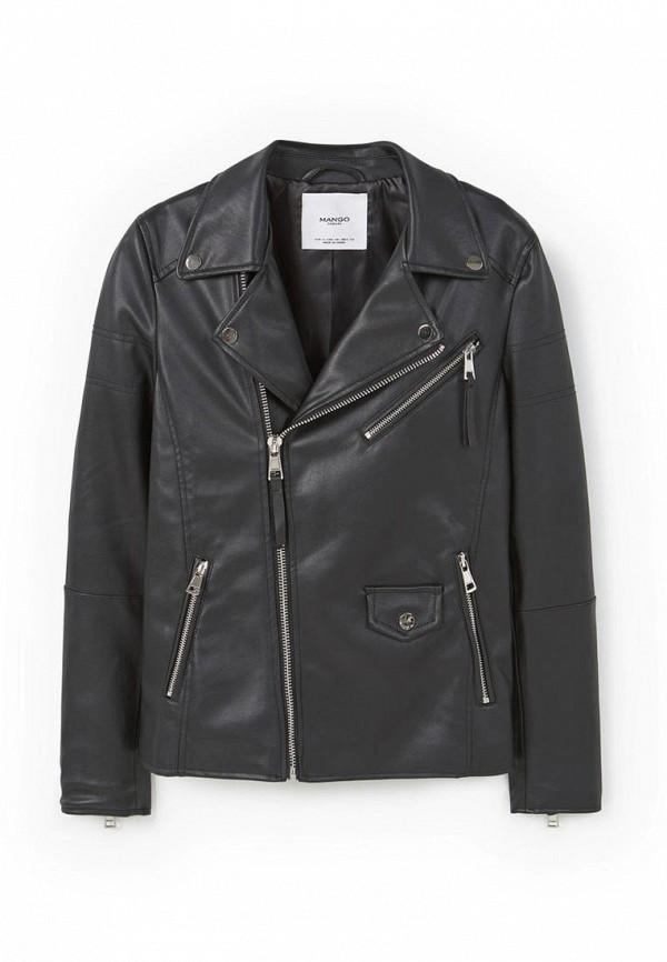 Кожаная куртка Mango (Манго) 73095604