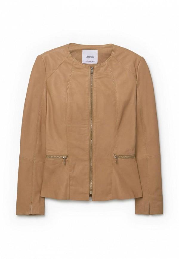 Кожаная куртка Mango (Манго) 73995004