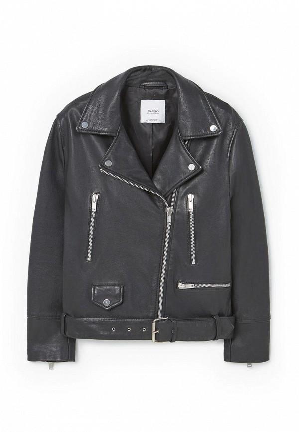 Кожаная куртка Mango (Манго) 83060131