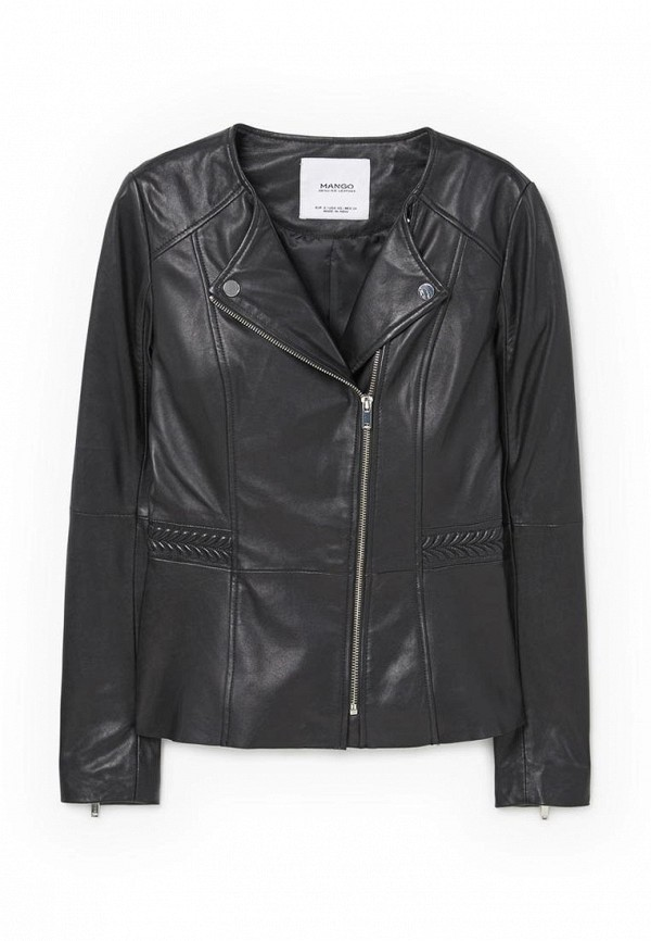 Кожаная куртка Mango (Манго) 83043010