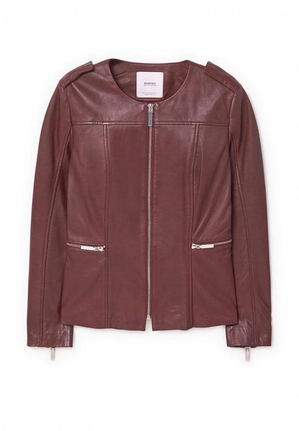 Кожаная куртка Mango (Манго) 83053008