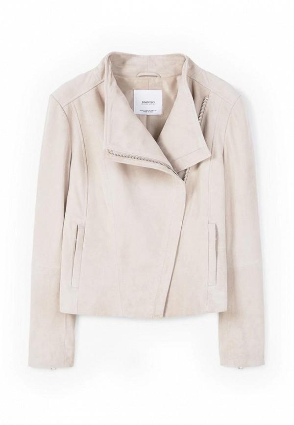 Кожаная куртка Mango (Манго) 83065507