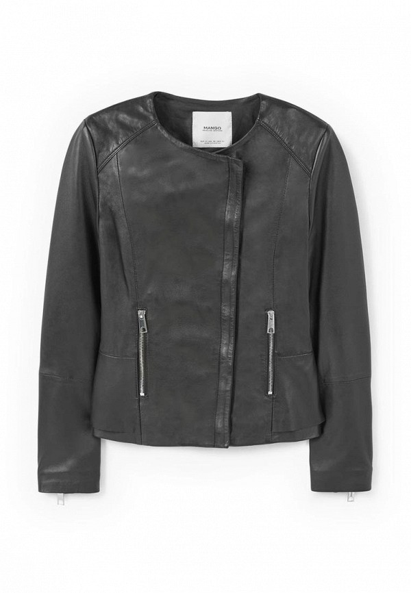 Кожаная куртка Mango (Манго) 83973007