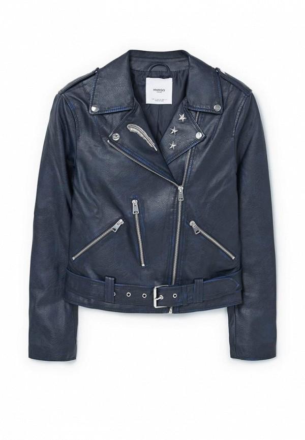 Кожаная куртка Mango (Манго) 83090207