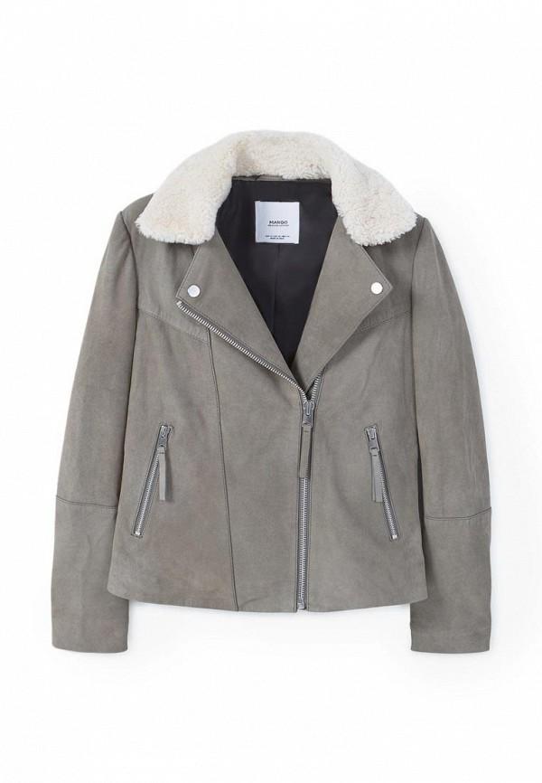 Кожаная куртка Mango (Манго) 83060048