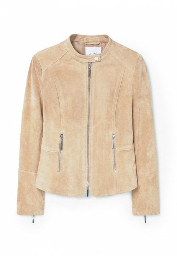 Кожаная куртка Mango (Манго) 83045532