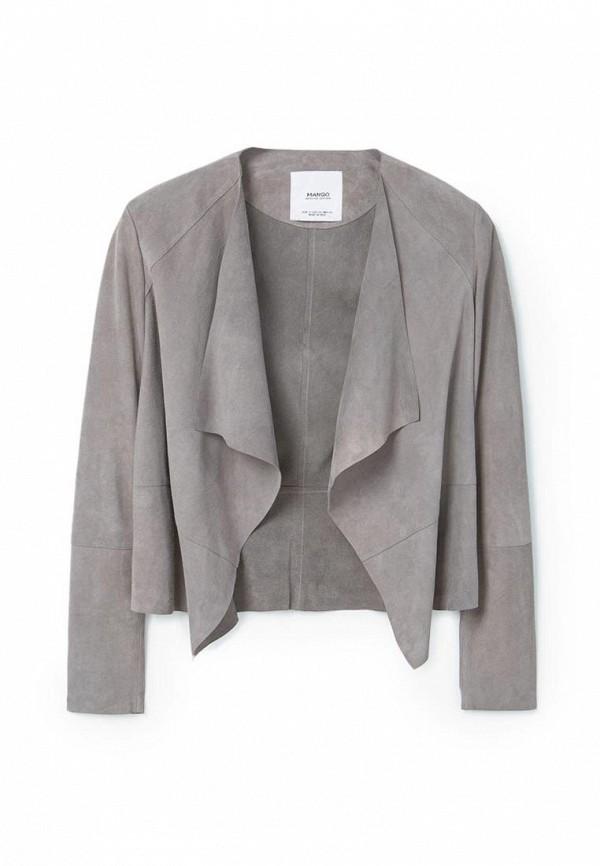Кожаная куртка Mango (Манго) 83035503