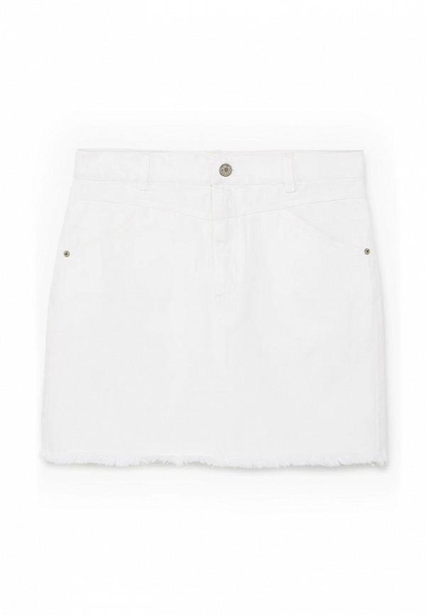 Джинсовая юбка Mango (Манго) 83065531
