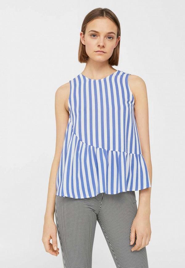 Блуза Mango Mango MA002EWTVG06 футболка поло с вышивкой на груди на 3 12 лет