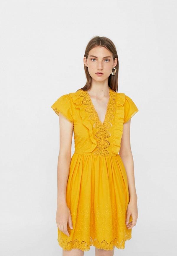 Платье Mango Mango MA002EWVBX17 куртка кожаная mango mango ma002ewtjy21