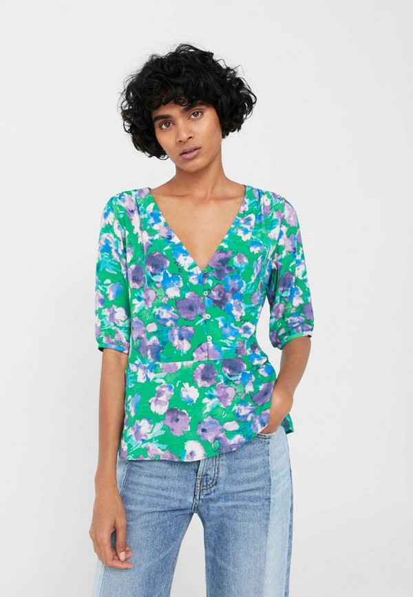 Блуза Mango Mango MA002EWVCY02 блуза mango mango ma002ewvbk05