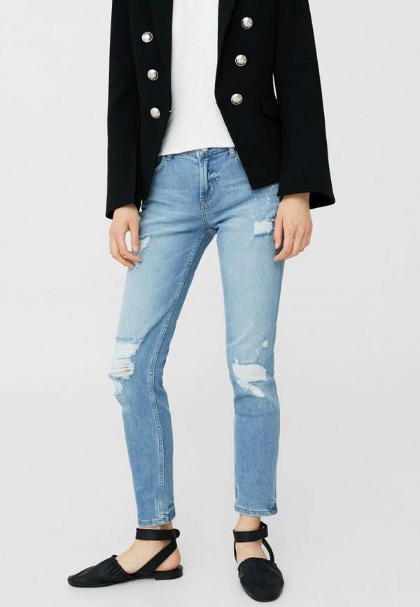 Фото - женские джинсы Mango голубого цвета