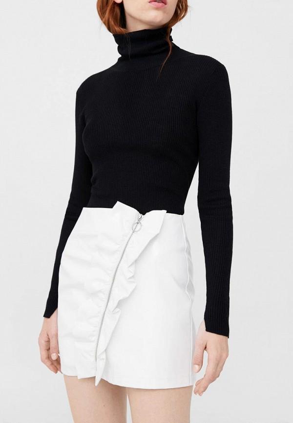Фото - женскую юбку Mango белого цвета