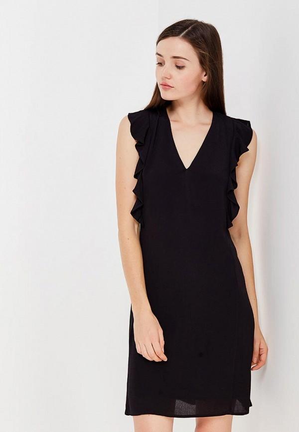 Фото - женское платье Mango черного цвета