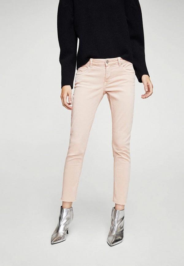 Фото - женские брюки Mango розового цвета