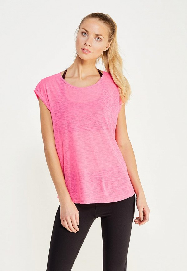 Фото - женскую футболку Mango розового цвета