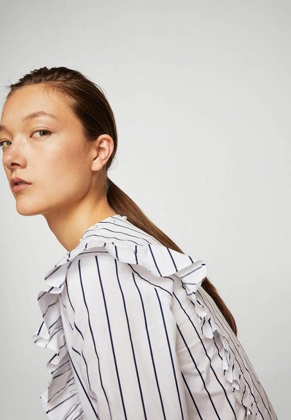 Фото - Рубашку Mango белого цвета