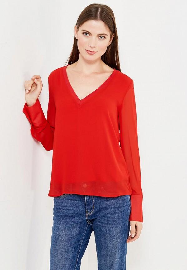 Фото - женскую блузку Mango красного цвета