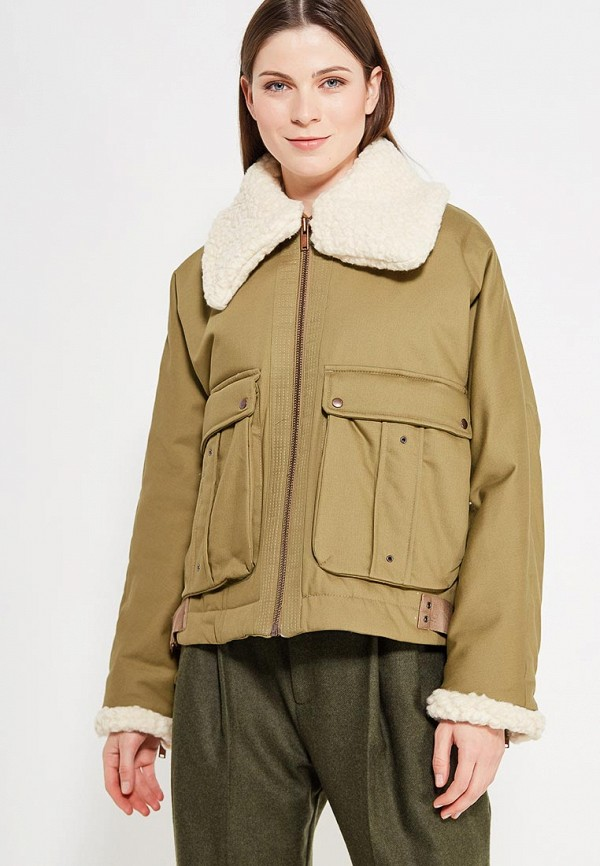 Фото - Куртку утепленная Mango цвета хаки
