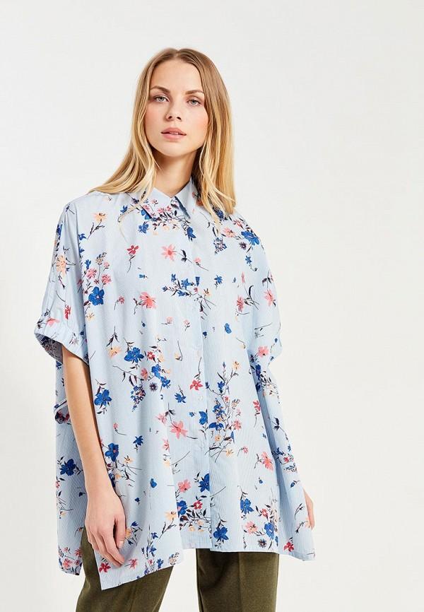 Фото - Рубашку Mango голубого цвета