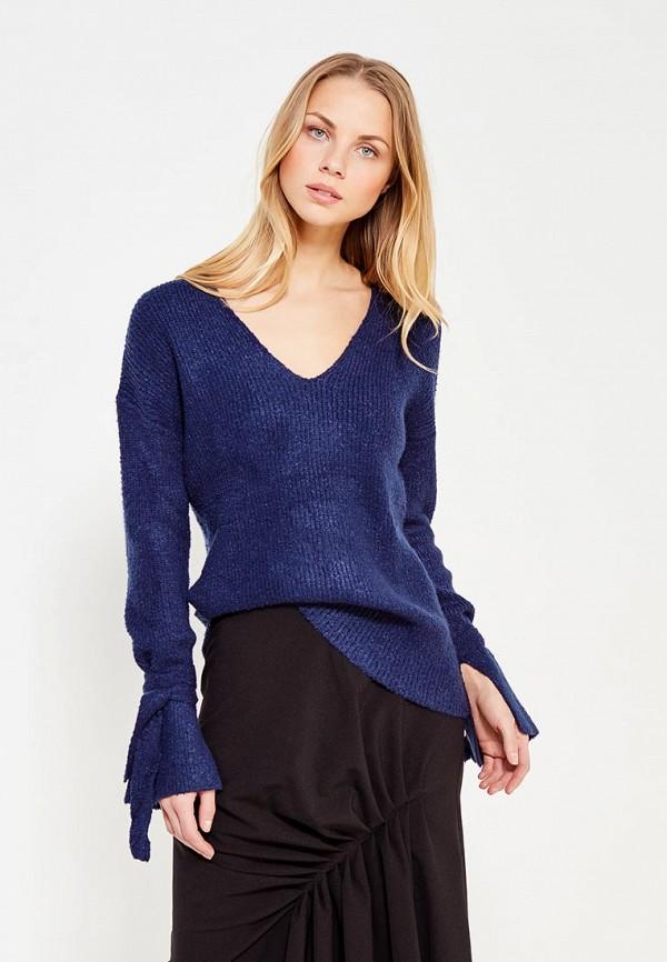 Фото - женский пуловер Mango синего цвета