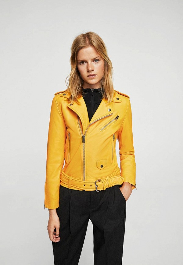 Куртка кожаная Mango Mango MA002EWXUK08 куртка кожаная mango mango ma002ewtjy21