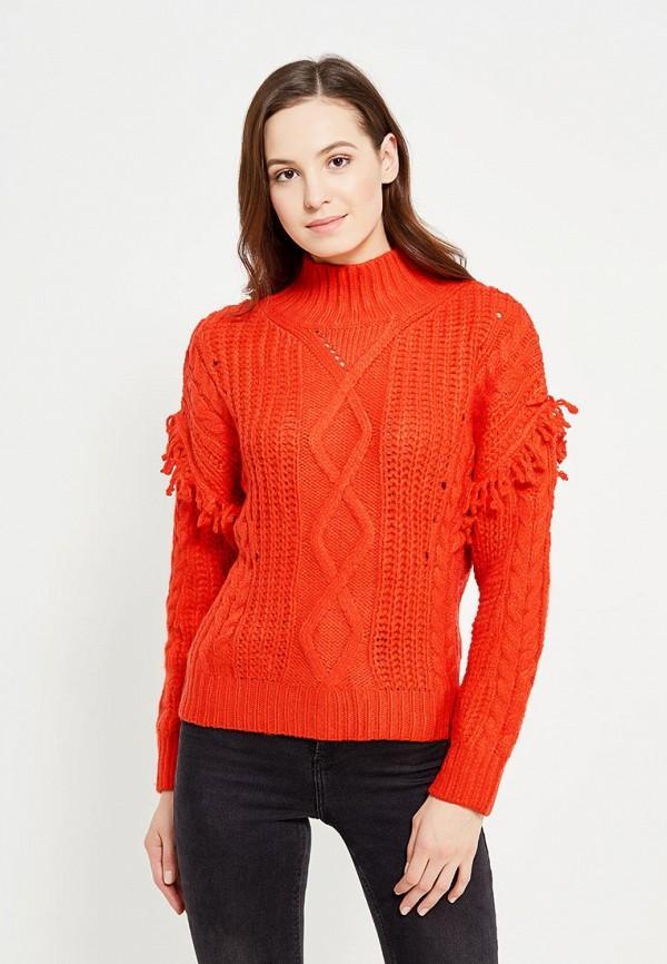 Фото - женский свитер Mango красного цвета