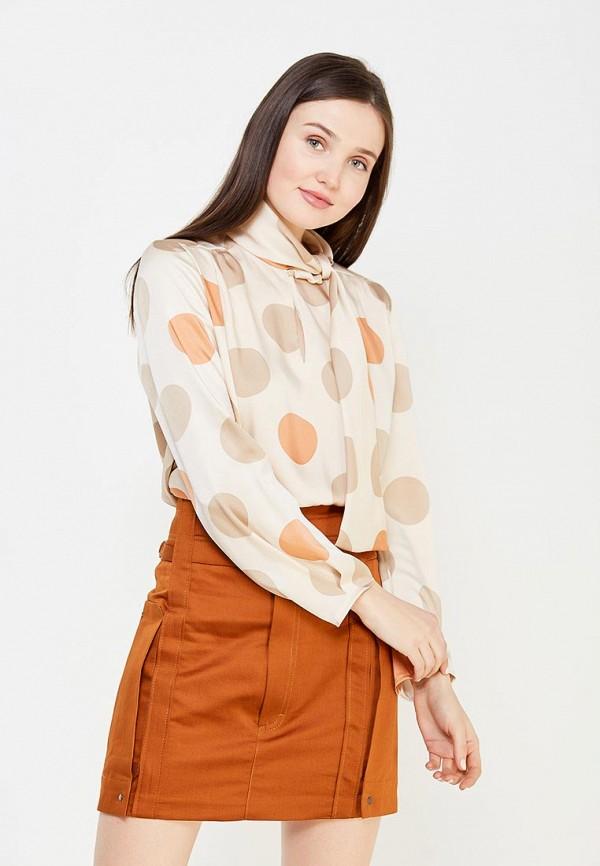 Фото - женскую блузку Mango бежевого цвета