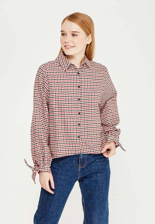 Фото - женскую рубашку Mango красного цвета