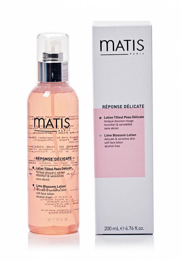 Линия для чувствительной кожи Matis Лосьон из цветов липы 200 мл