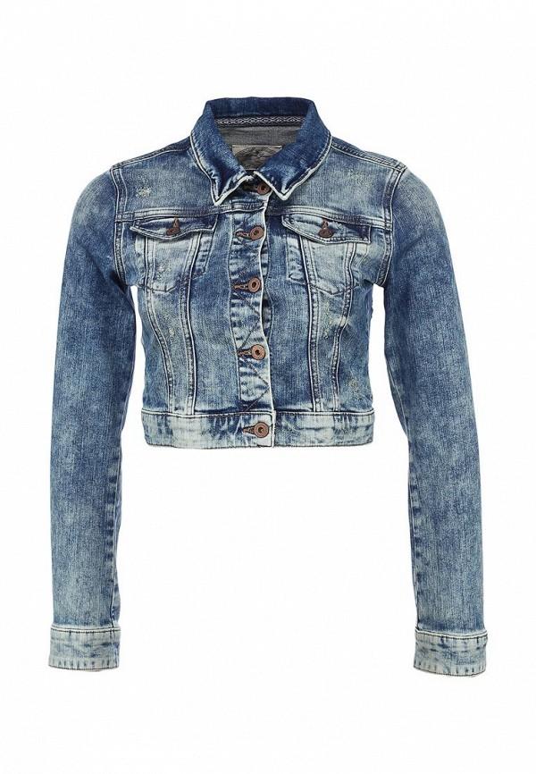 Куртка джинсовая Mavi MA008EWACX10. Цвет: синий