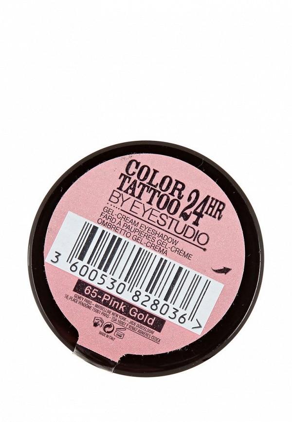 Тени Maybelline New York для век Color Tattoo 24 часа оттенок 65 Розовое золото 3,5 мл
