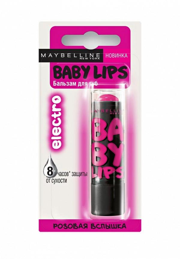 Бальзам для губ Maybelline New York Baby Lips. Electro, Розовая Вспышка, 1,78 мл