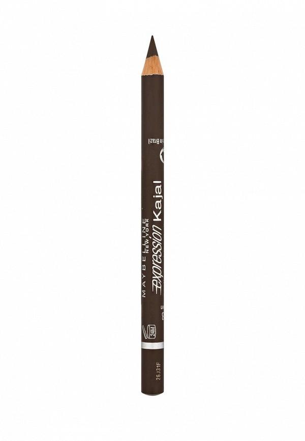 Декоративная косметика Maybelline New York для глаз Expression Kajal, оттенок 38, коричневый,1,14 г