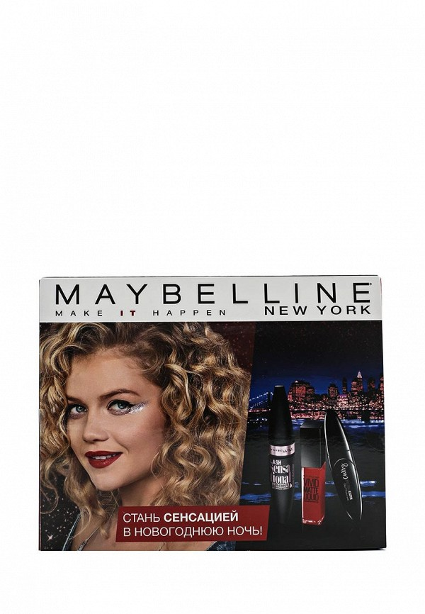 Набор косметики Maybelline New York Maybelline New York MA010LWPKJ28 songqu sq ip2011 stylish in ear earphones w microphone blue black white