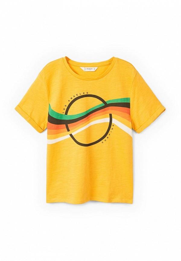 Футболка Mango Kids Mango Kids MA018EBAFGC7 кардиган mango kids mango kids ma018egyez20