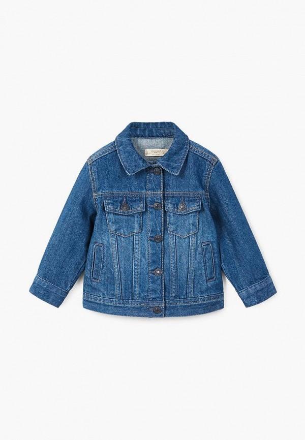 Фото Куртка джинсовая Mango Kids. Купить с доставкой