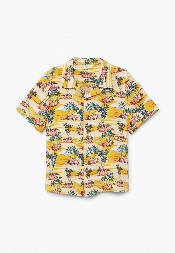 Фото Рубашка Mango Kids. Купить с доставкой