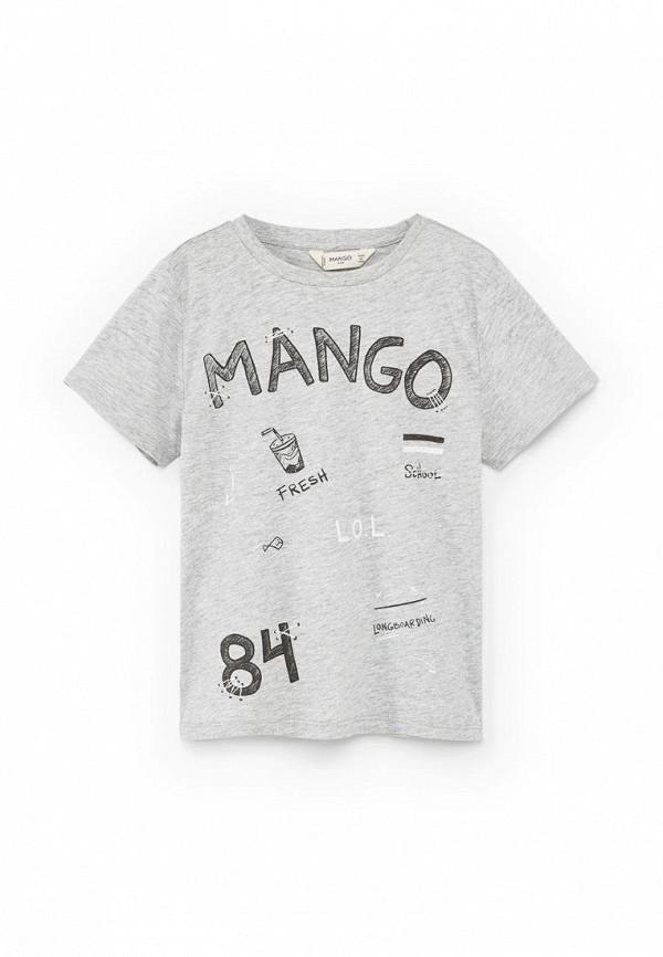 Футболка с коротким рукавом Mango Kids (Манго Кидс) 83933566