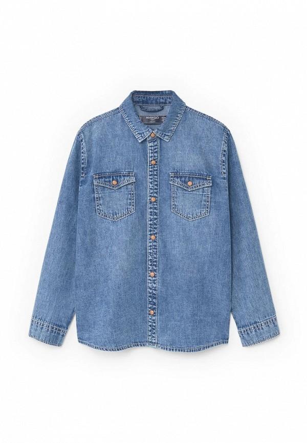 Рубашка джинсовая Mango Kids 83043566