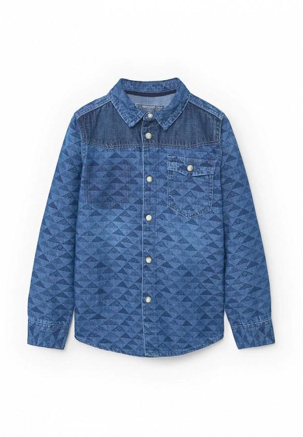 Рубашка Mango Kids (Манго Кидс) 83063540