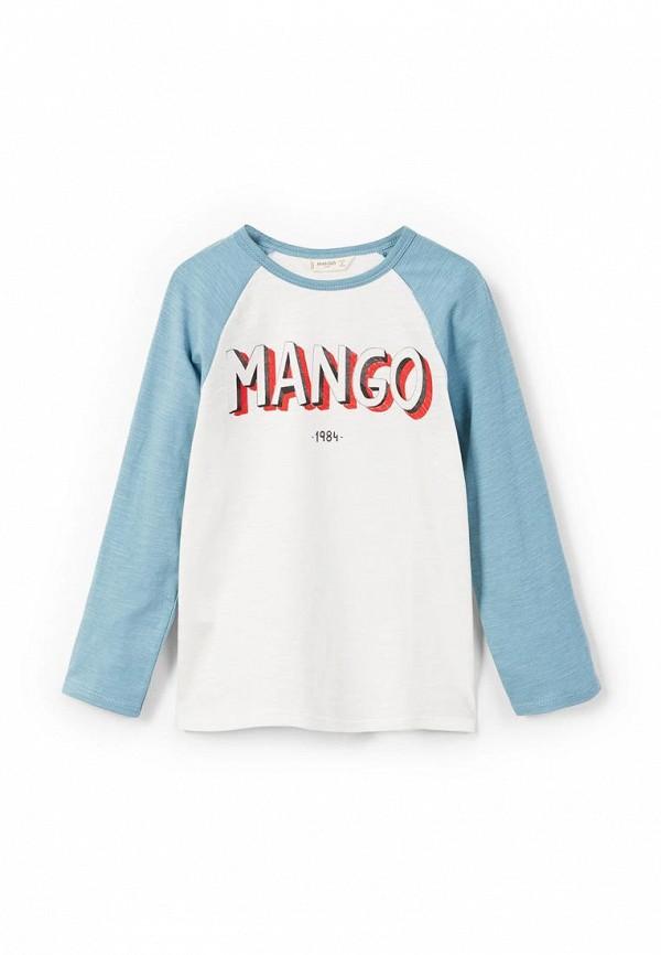 Лонгслив Mango Kids Mango Kids MA018EBZZK38 лонгслив mango kids hello