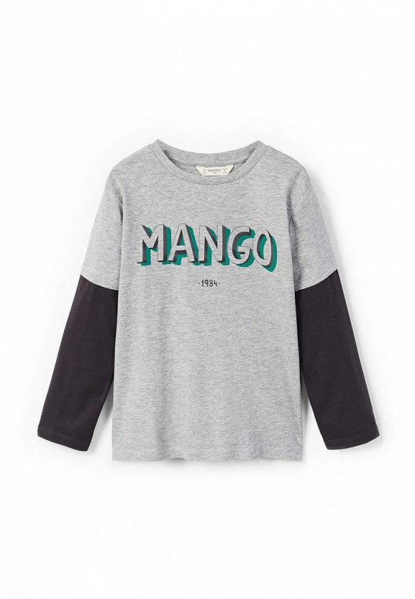 Лонгслив Mango Kids Mango Kids MA018EBZZL69 лонгслив mango kids mango kids ma018egwle27