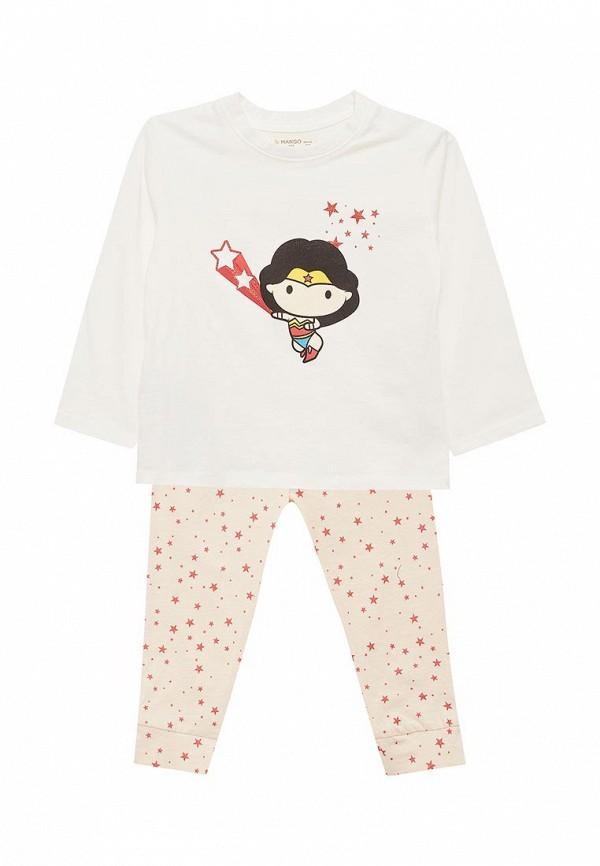 Пижама Mango Kids Mango Kids MA018EGAFFU5 куртка кожаная mango mango ma002ewtjy21