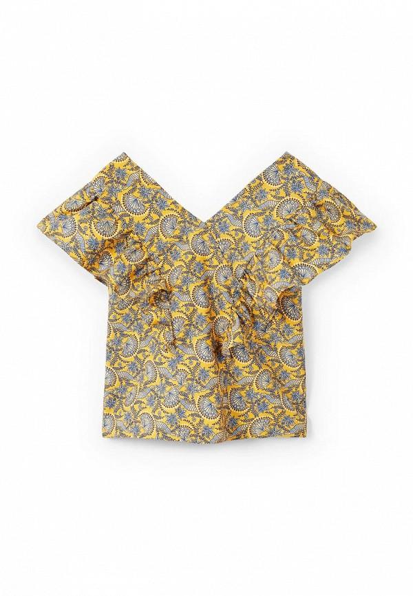 Блуза Mango Kids Mango Kids MA018EGAFGD0 блуза mango mango ma002ewvcx57