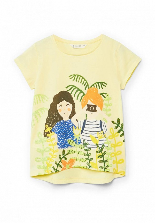 Футболка Mango Kids Mango Kids MA018EGAFMG6 кардиган mango kids mango kids ma018egyez20