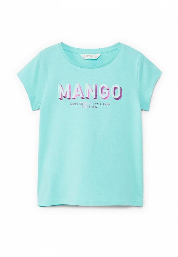 Футболка Mango Kids Mango Kids MA018EGAFMJ5 рубашка mango kids mango kids ma018ebaegw6