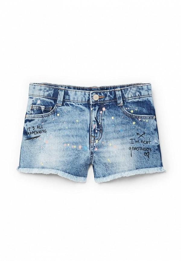 Шорты джинсовые Mango Kids Mango Kids MA018EGAFMW5 шорты джинсовые mango kids mango kids ma018egafmw4