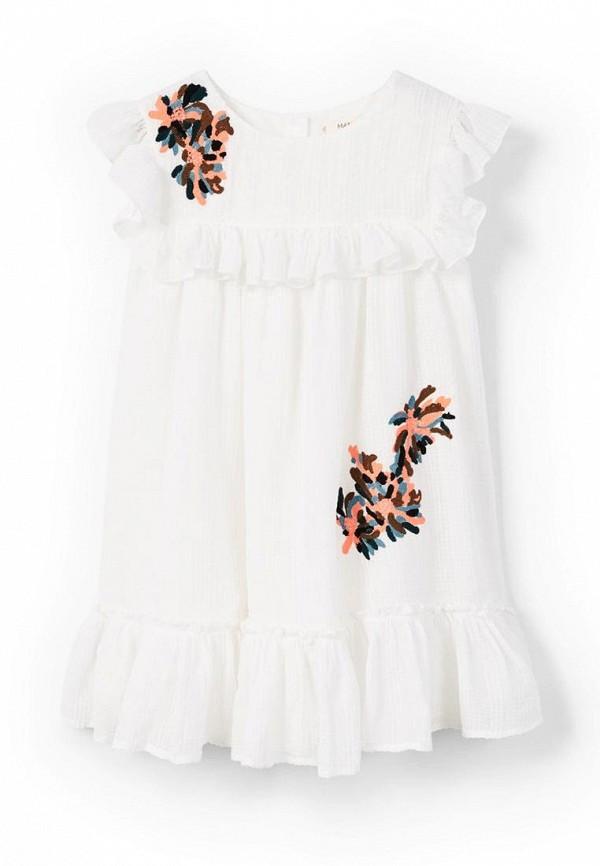 Платье Mango Kids Mango Kids MA018EGAQTO0 рубашка mango kids mango kids ma018ebaegw6