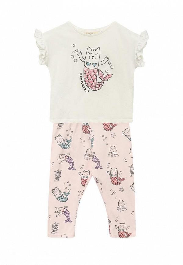 Пижама Mango Kids Mango Kids MA018EGAQWV3 пижама turen цвет розовый